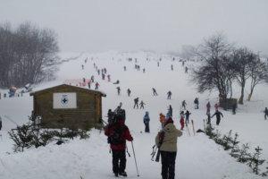wyciąg narciarski przywidz