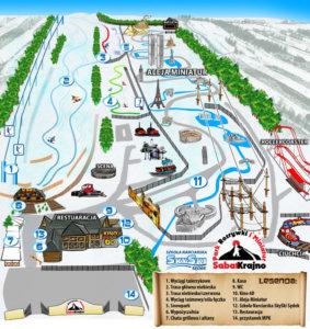wyciąg w krajnie sabat narty