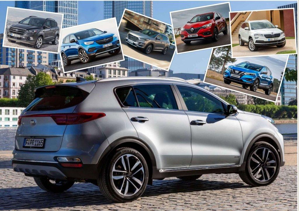 Porównanie nowych samochodów typu SUV za 80 tys