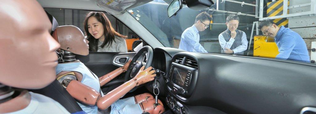 Kia airbag