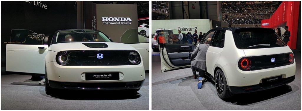 Honda Prototype E elektryczna