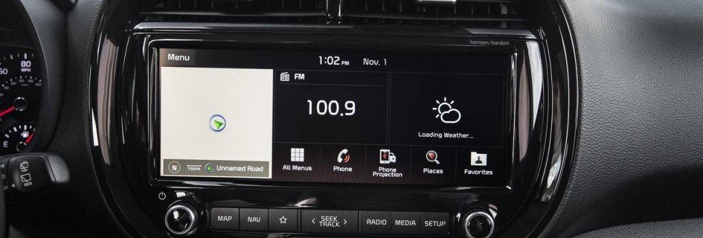 Kia system multimedialny