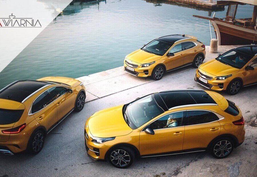 Nowa Kia XCeed yellow