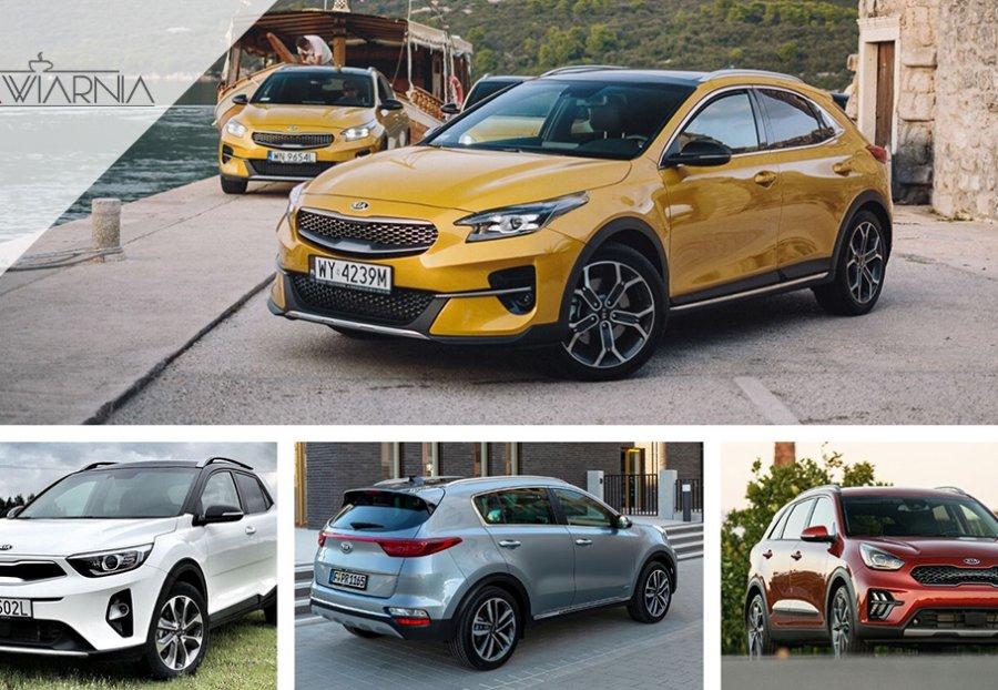 SUV-y i crossovery Kia - Stonic, XCeed, Sportage, Niro, Sorento