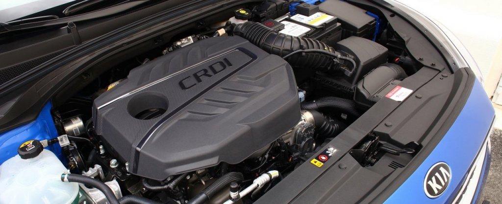 Silnik diesla Kia Ceed 1.6 CRDi