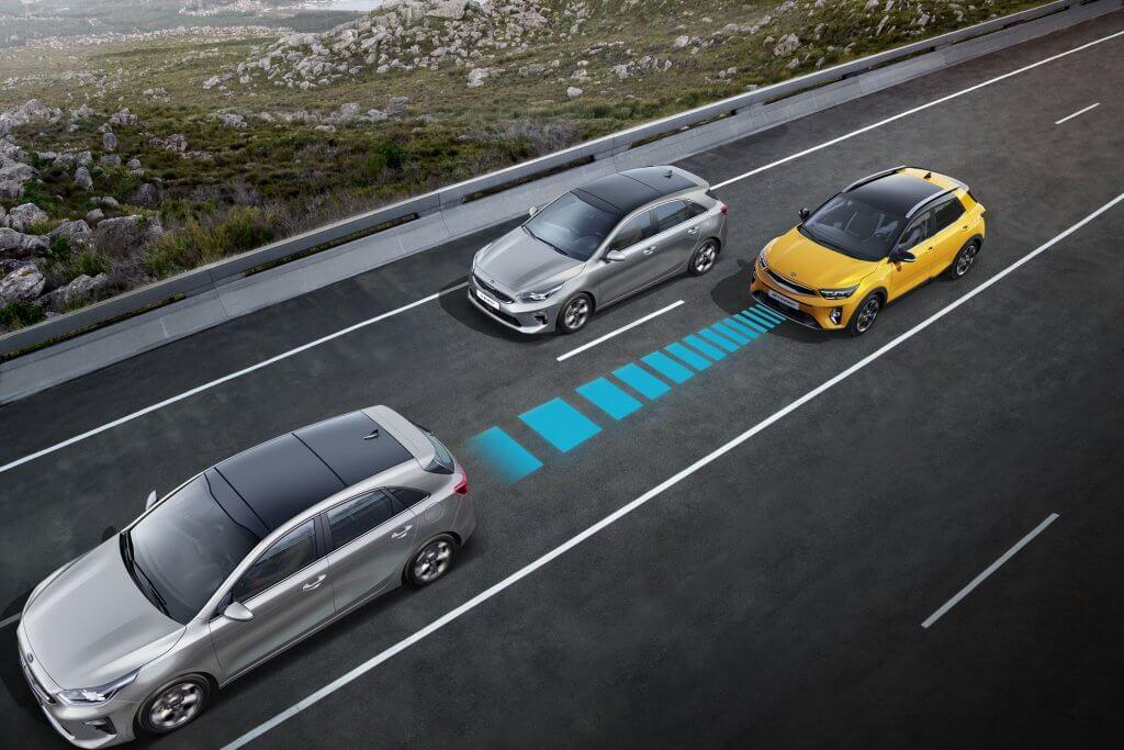 Kia Stonic nowe systemy bezpieczeństwa w miejskim crossoverze
