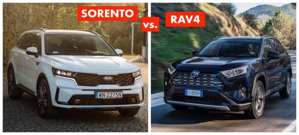 Sorento czy RAV4